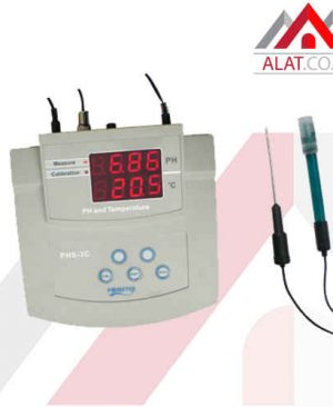 Bench pH Temp Meter AMTAST PHS-3C