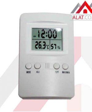 Thermometer Hygro and Clock KK-202