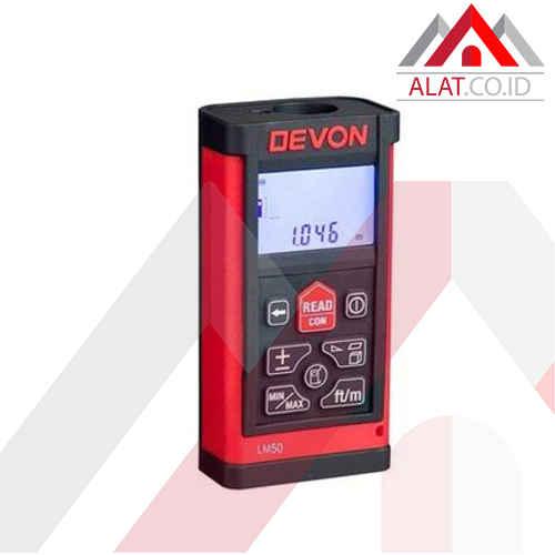 Meteran Laser DEVON LM50