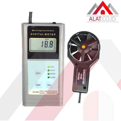 DIGITAL ANEMOMETER AM-4832