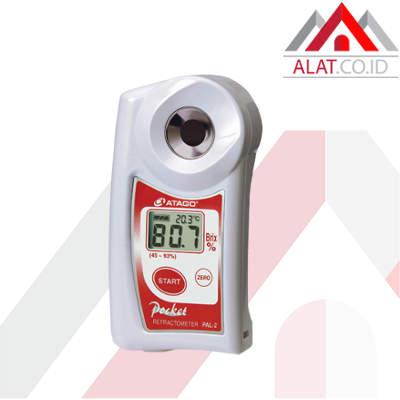 Portable Digital Refractometer Brix ATAGO PAL-2