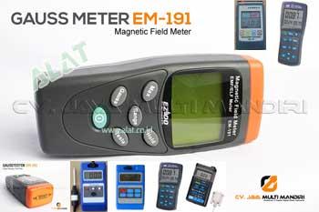 gausmeter / magnetometer