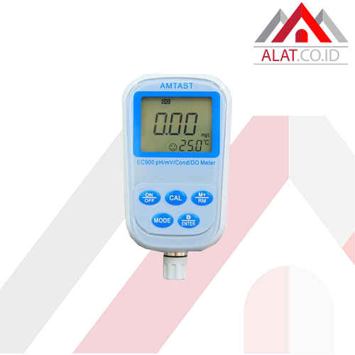 pH/mV Conductivity/DO Meter AMTAST EC900