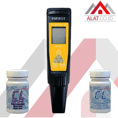 Alat Ukur pH Chlorine Digital AMT-26