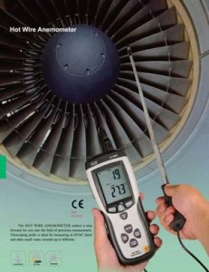 DT-8880 Hot Wire Anemometer