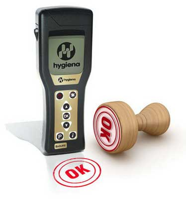 Portable ATP Hygiene Monitoring System EnSURE