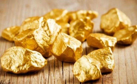 Proses Pembentukan Logam Emas